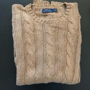 Polo Ralph Lauren Cotton Cashmere Cable Sweater